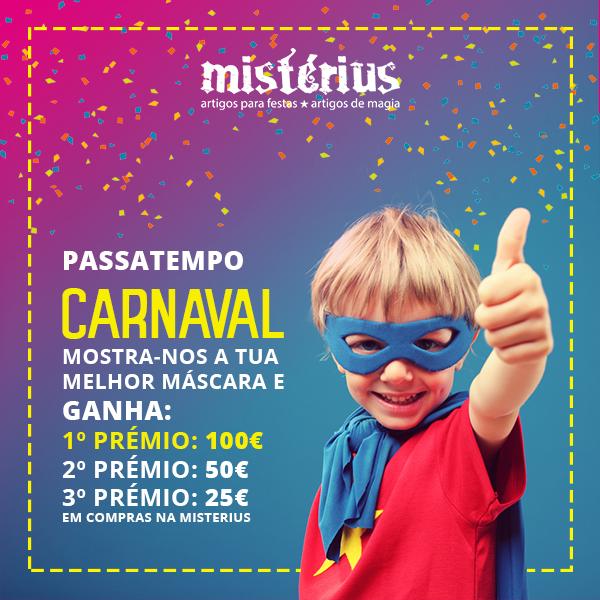 Regulamento do Passatempo Facebook – Melhor Máscara de Carnaval!