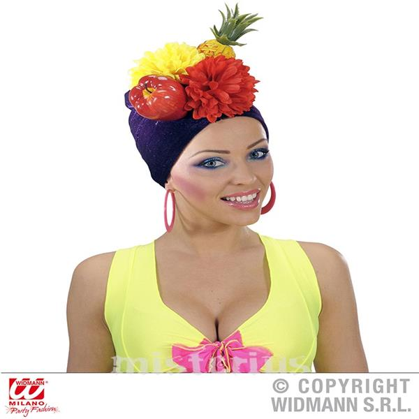 Turbante Frutos Carmen Miranda