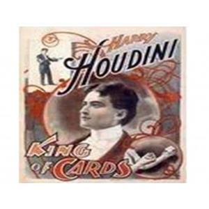 Posters Houdini King of Cards
