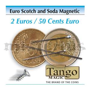 Moeda Scotch Soda Magnetica-Euro Scotch and Soda Magnetic ;