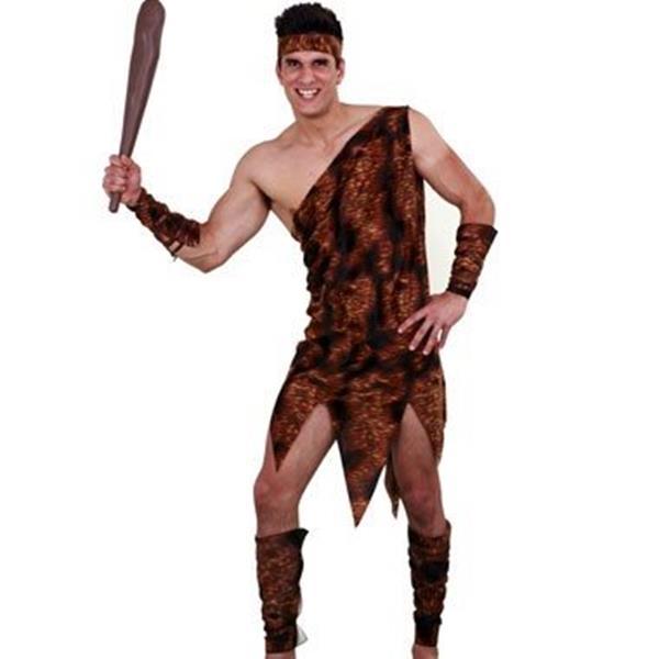Festa Romana | Grega - 100 - Fato Homem das Cavernas Feliz