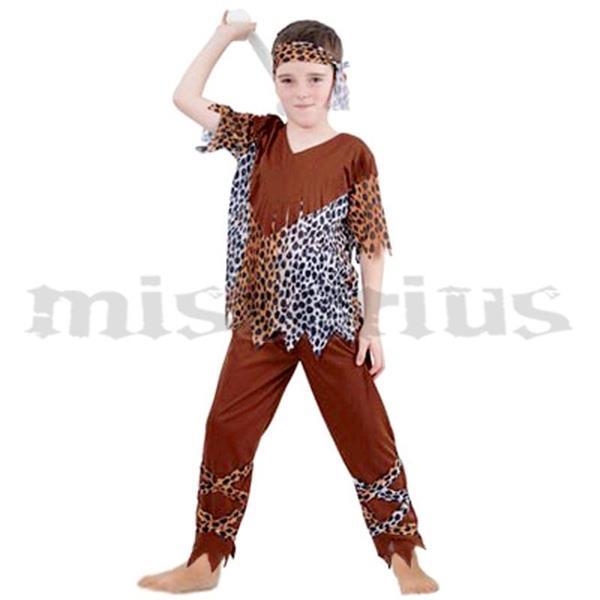 FESTAS TEMÁTICAS - Festa Viking - Fato Troglodita Cavernas, criança