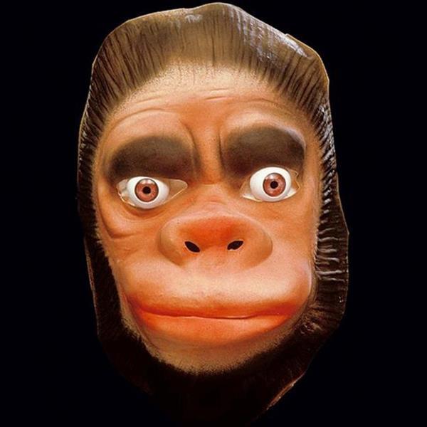 Festa Africana - novidades - Mascara Macaco em latex