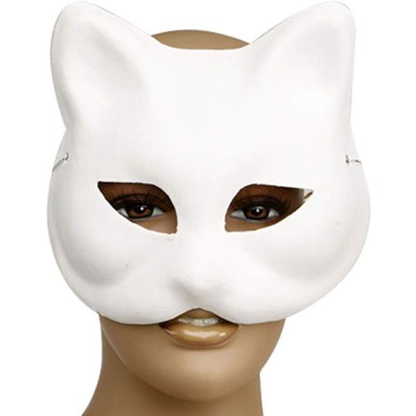 Mascarilha Gato Branco