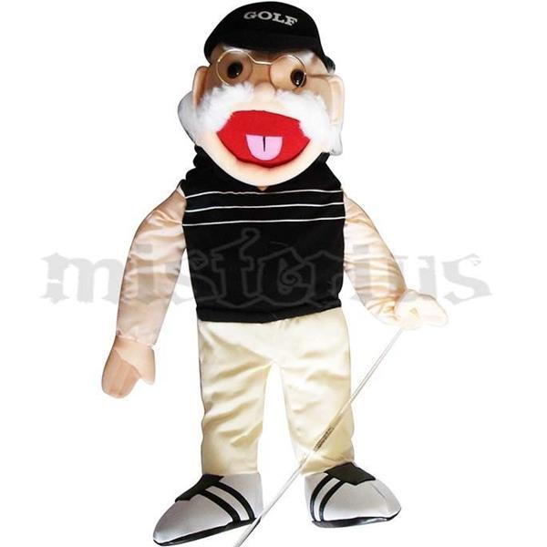 Boneco Ventriloquia Golf