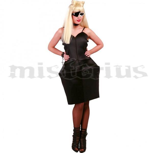 Festa Herois | B.D. classicos - promocoes - Fato Lady Gaga Preto
