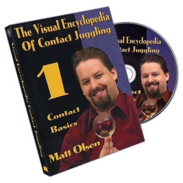 DVD com técnicas de bolas de contacto