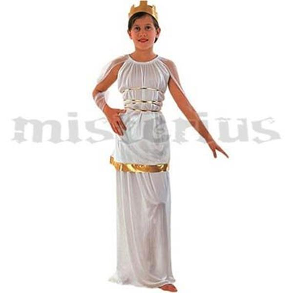 FESTAS TEMÁTICAS - Festa Romana | Grega - Fato Atena Grega, criança