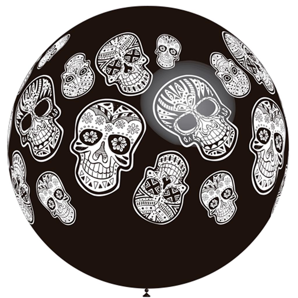 975fc72b0cffe Balão Caveiras Mexicanas 90cm