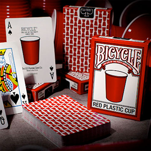 Baralho Bicycle Red Plastic Cup