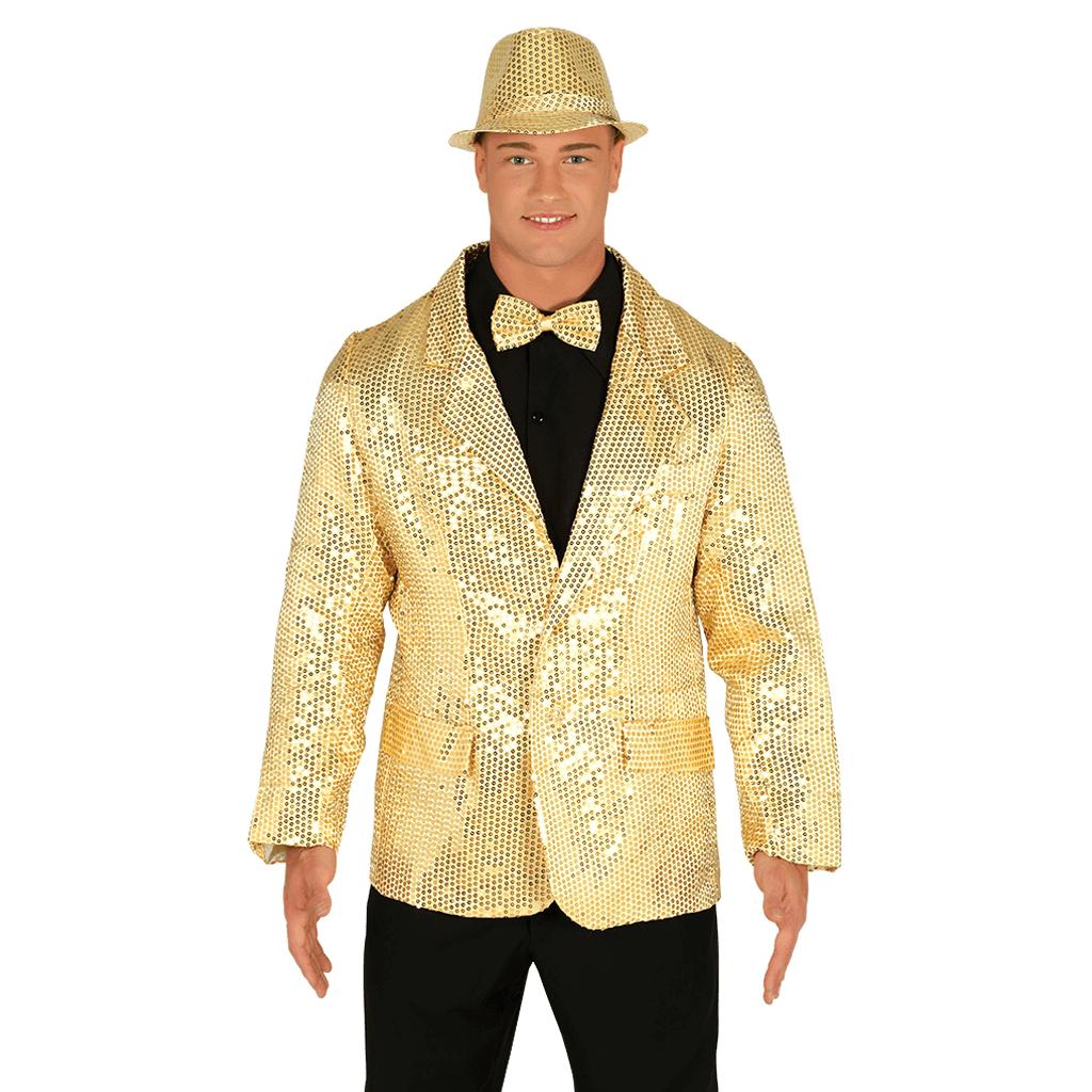 Casaco Dourado com Lantejoulas 158a480b1d7