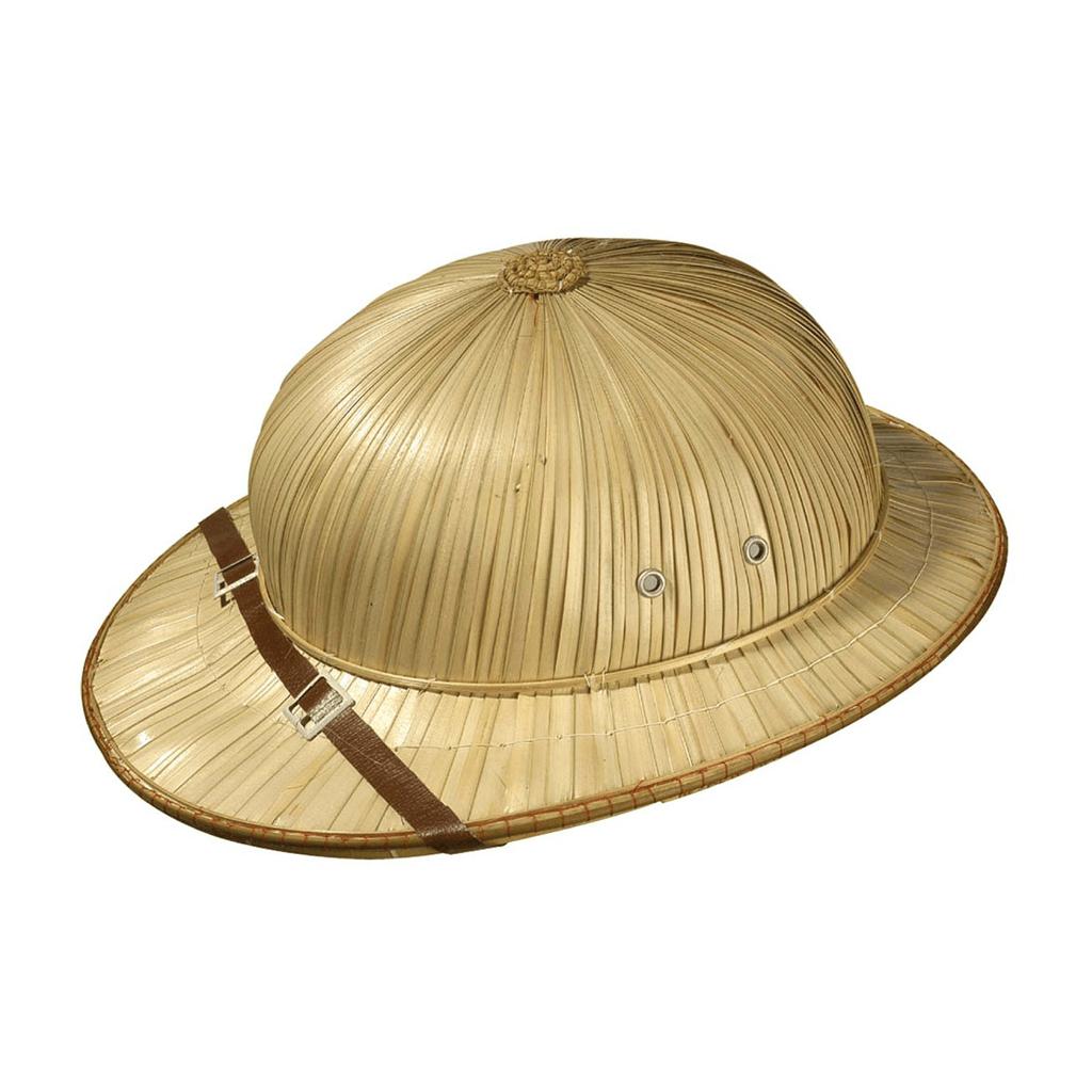 Chapéu de Explorador em Palha com Fita  3a399f701a1