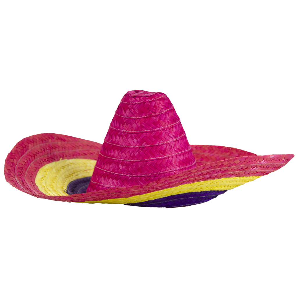 1a19e460214fb Chapéu Mexicano em Palha Multicor