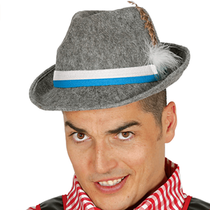 Chapéu Tirolês Cinzento 2f019a8a6c4