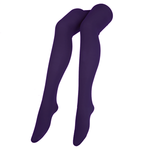 Collants Microfibra Roxo Escuro