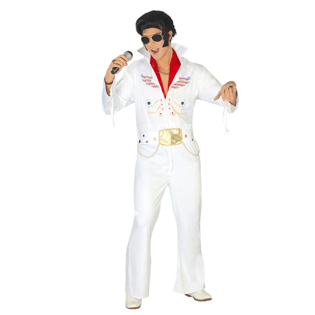 16ed54fc9923d Fato Elvis Rock and Roll, Adulto   Misterius.pt