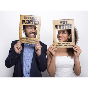 Photobooth Wife e Husband Wanted