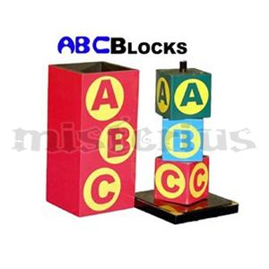 ABC Bloco -Blocks - Wood ;