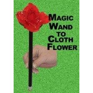 Aparição da Flor na Varinha -Magic Wand to cloth Flower