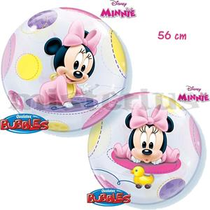 Balão Bubble Baby Minnie