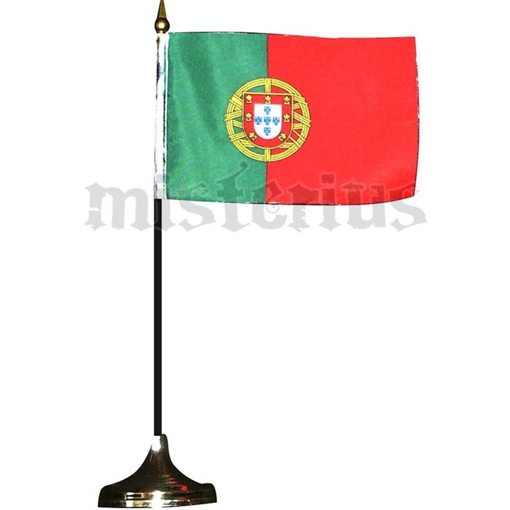 Bandeira De Portugal Com Suporte De Mesa2  589b845bef191