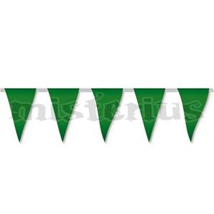 Bandeiras Triangulares Verdes, 5 mt