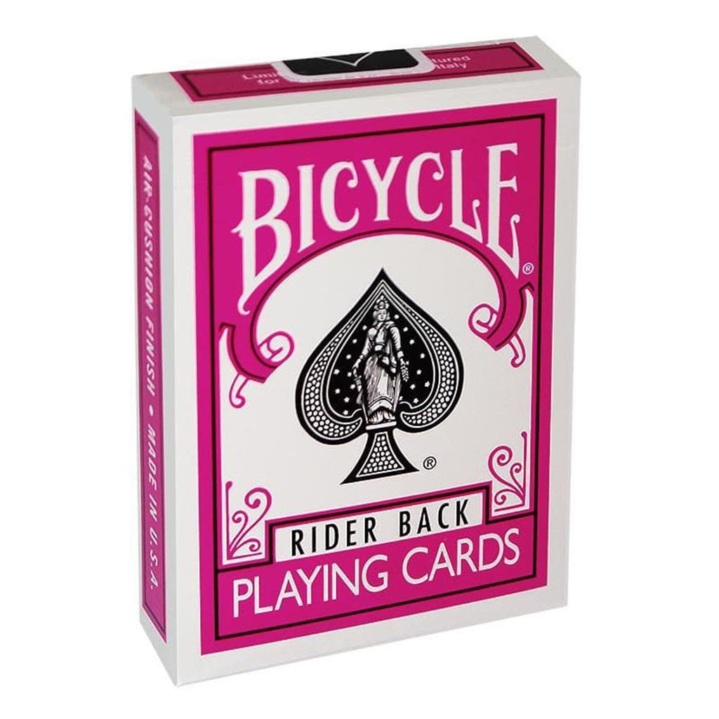 Baralho Bicycle Poker Rosa/Bicycle Poker Deck - Fuchsia Back