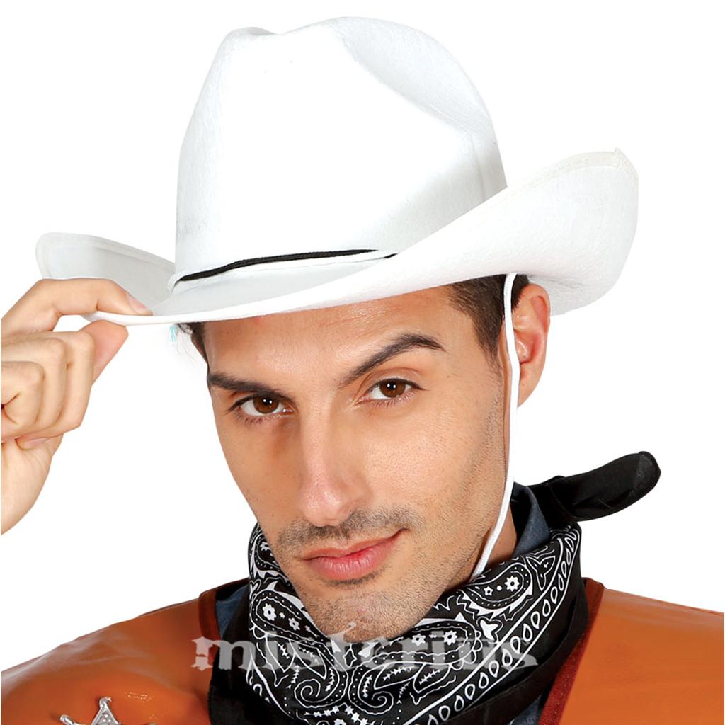 3b37841b15d96 Chapeu Cowboy Branco Feltro
