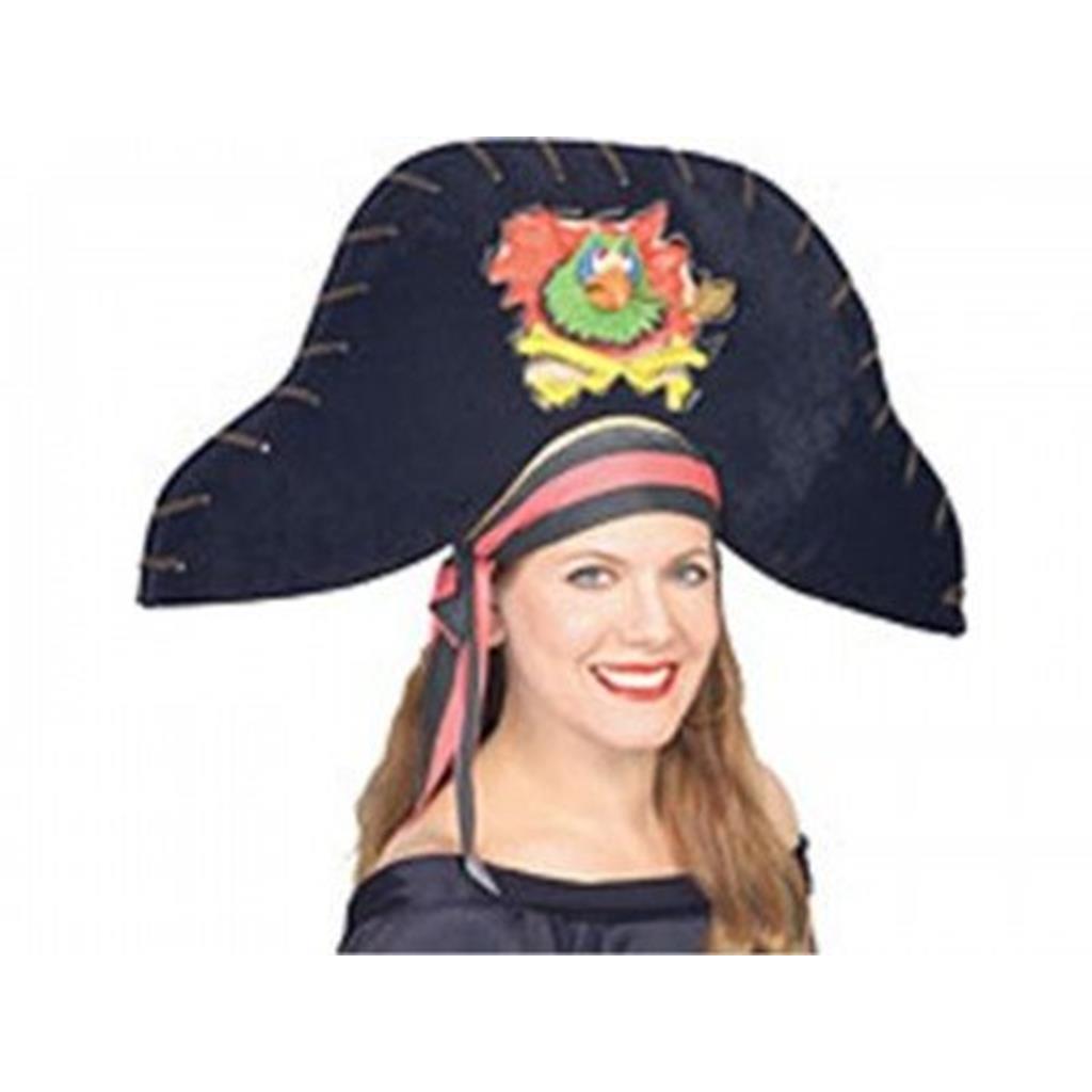 Chapéu Pirata Com Papagaio  8774b286edb