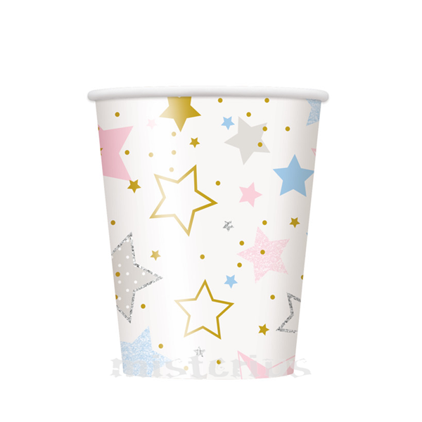 Copos Twinkle Little Star, 8 un