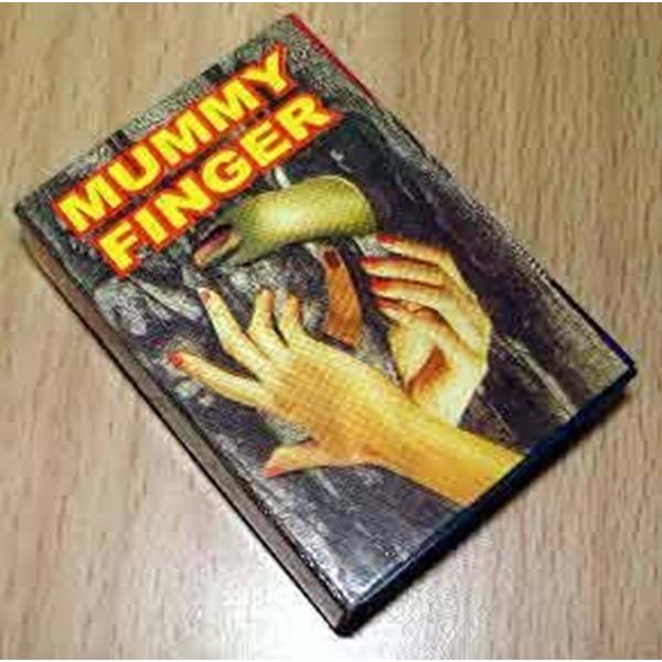Dedo da mumia  dentro da caixa, LIVING MUMMY FINGER BOX