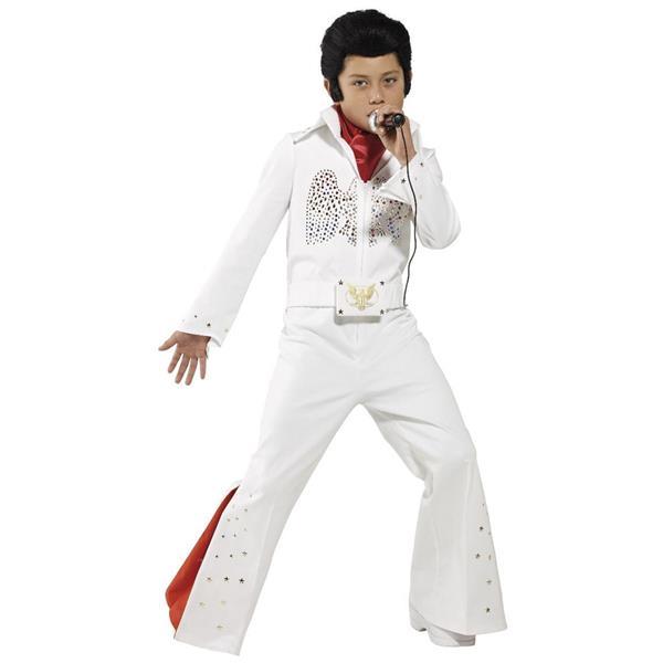 359652a02ca40 Fato Elvis Criança   Misterius