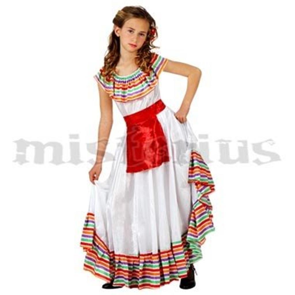 515aa71458e57 Fato Mexicana Menina Criança