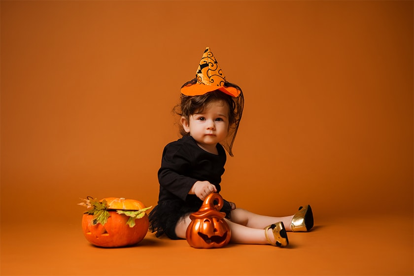 fatos bebe halloween