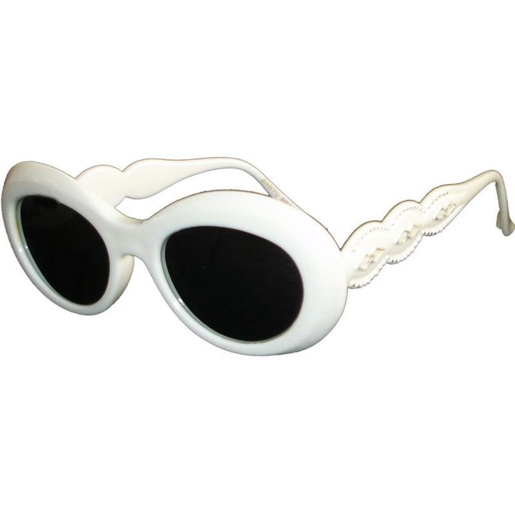 b9ce4c52aee97 Óculos Brancos Espelhados Anos 80   Misterius
