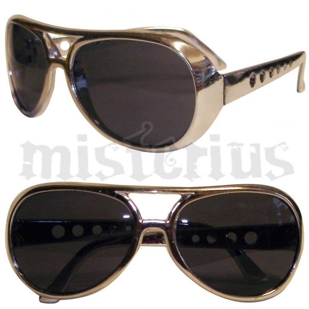 73d843f8ba3f7 Óculos Elvis Prateados   Misterius