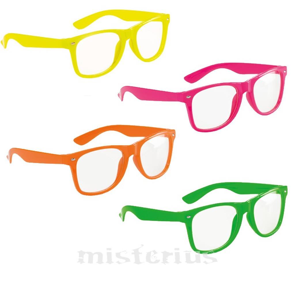 Óculos Com Lentes Fluorescentes   Misterius 18305f5e74