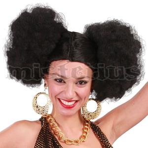 Peruca Afro Pompons
