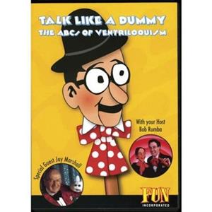 Ventriloquia DVD - Talk like a Dummy
